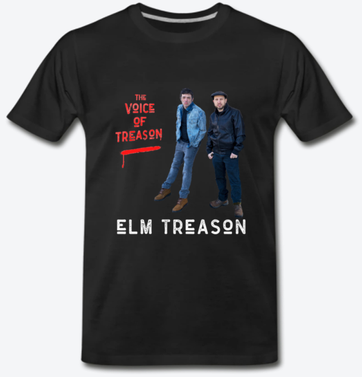 THE VOICE OF TREASON Standing Shirt