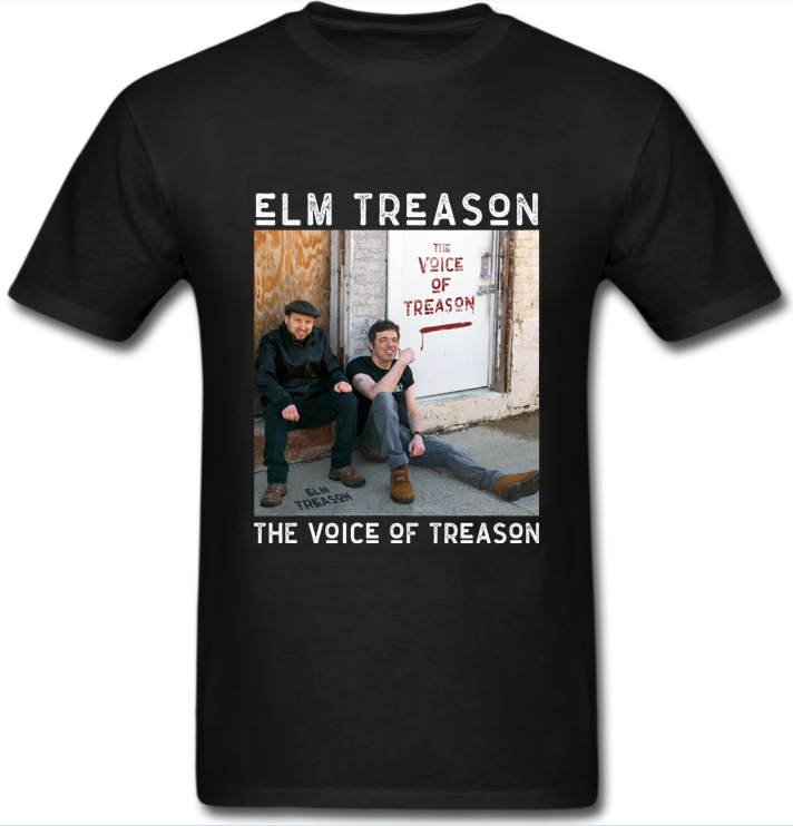 THE VOICE OF TREASON Album Cover Shirt